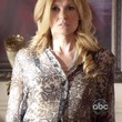 Connie Britton Print Blouse