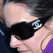 Courteney Cox Sunglasses - Designer Shield Sunglasses