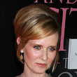 Cynthia Nixon Hair - Half Up Half Down