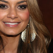 DJ Havana Brown Gold Dangle Earrings