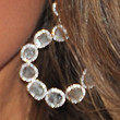 Dania Ramirez Jewelry - Sterling Hoops