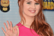 Debby Ryan Long Wavy Cut with Bangs