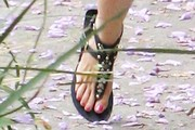 Delta Goodrem Thong Sandals