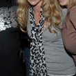 Denise Richards Patterned Scarf