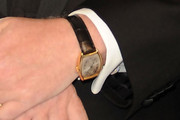 Dennis Basso Leather Band Quartz Watch