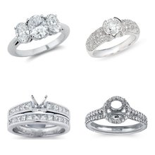 Diamond Semi-Mount Engagement Rings
