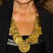 Diane von Furstenberg Bronze Statement Necklace