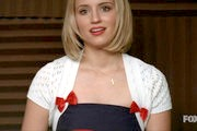 Dianna Agron Shrug Sweater