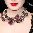 Dita Von Teese Gemstone Statement Necklace