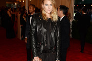 Dree Hemingway Leather Jacket