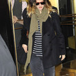 Drew Barrymore Knit Scarf