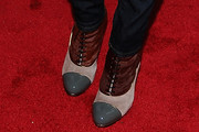 Thandie Newton Lace Up Boots