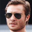 Ed Westwick Sunglasses - Aviator Sunglasses