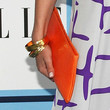 Eliza Dushku Leather Clutch