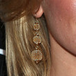 Elizabeth Banks Jewelry - Gold Dangle Earrings