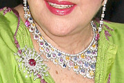 Elizabeth Taylor Gemstone Collar Necklace
