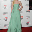 Elle Fanning Clothes - Evening Dress