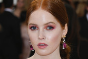 Ellie Bamber Long Hairstyles