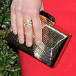 Ellie Kemper  Metallic Clutch