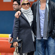 Elsa Pataky Clothes - Wool Coat