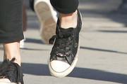 Emily Blunt Canvas Shoes