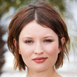 Emily Browning Short Straight Cut