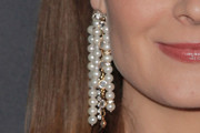 Emily Deschanel Chandelier Earrings