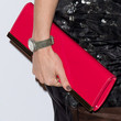 Emily Maitlis Patent Leather Clutch
