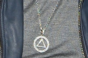 Eminem Diamond Statement Necklace