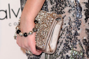 Emma Roberts Gemstone Inlaid Clutch