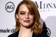 Emma Stone Shoulder Length Hairstyles