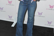 Emmanuelle Chriqui High-Waisted Jeans