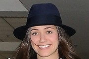 Emmy Rossum Dress Hats