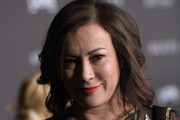 Jennifer Tilly Medium Wavy Cut
