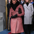 Eva Longoria Clothes - Leather Coat