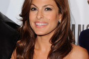 Eva Mendes Rocks Long Wavy Cut to Thierry Mugler Fragrance Launch