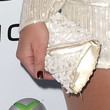 Eva Simons Beaded Clutch