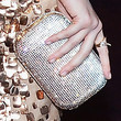 Evan Rachel Wood Handbags - Sequined Clutch