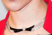 Scarlett Johansson Diamond Collar Necklace