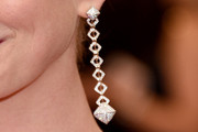 Anne Hathaway Dangling Diamond Earrings