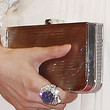 Fan Bingbing Handbags - Hard Case Clutch