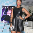 Fantasia Barrino Clothes - Leather Dress