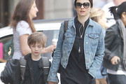 Rachel Weisz Denim Jacket