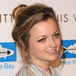 Francesca Eastwood Loose Bun