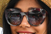 Freida Pinto Novelty Sunglasses