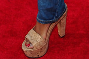 Garcelle Beauvais Slide Sandals