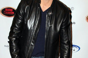 Gilles Marini Leather Jacket