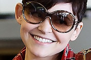 Ginnifer Goodwin Round Sunglasses