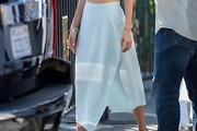 Nicole Richie Knee Length Skirt