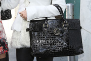 Gretchen Rossi Leather Tote